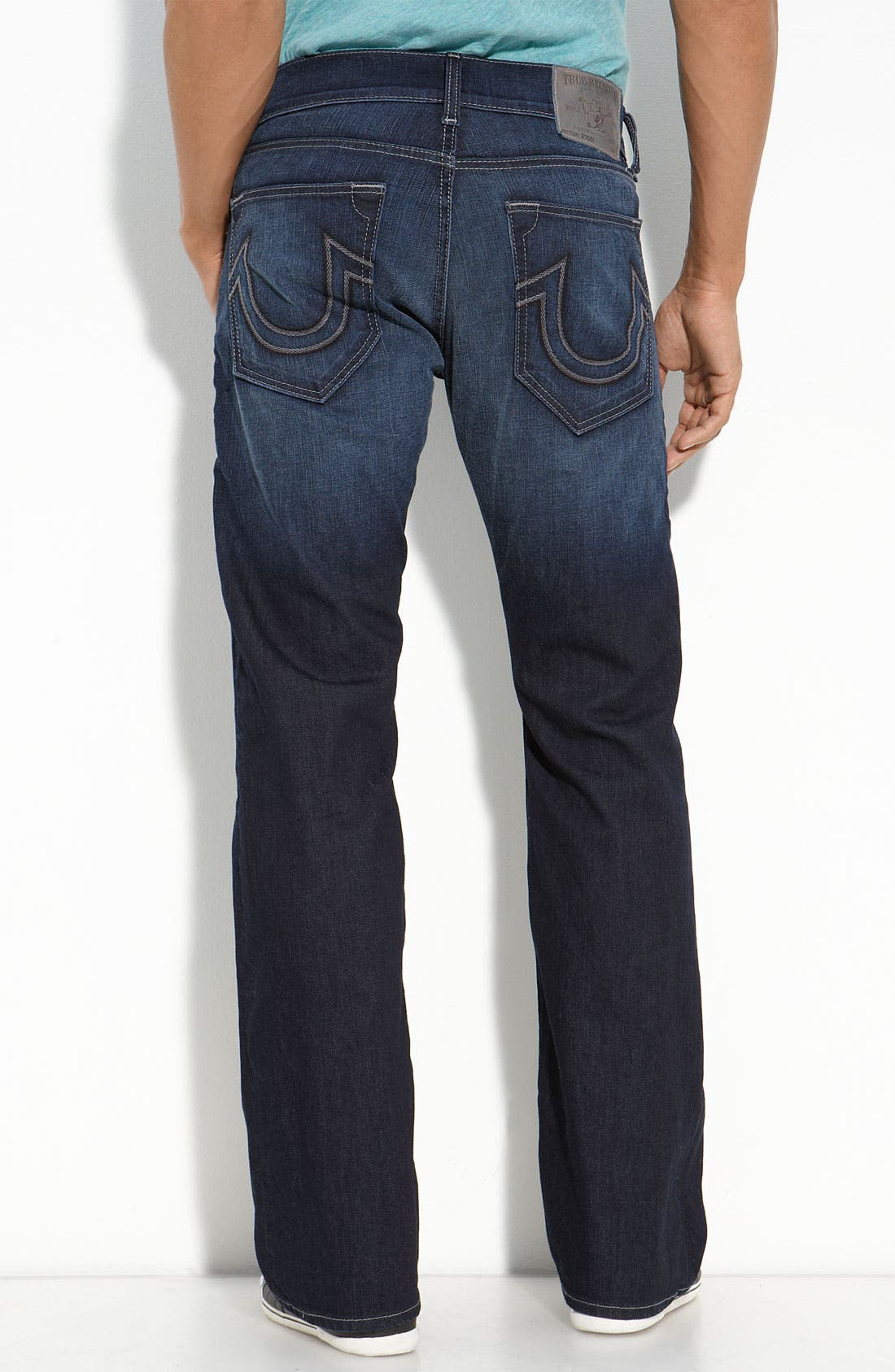 Main Image - True Religion Brand Jeans 'Danny' Bootcut Jeans (Franklin)