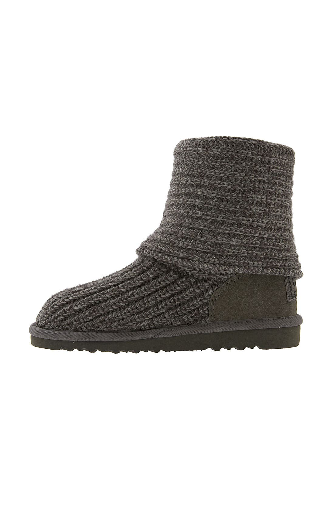 Alternate Image 3  - UGG® 'Cardy' Crochet Boot (Toddler, Little Kid & Big Kid)