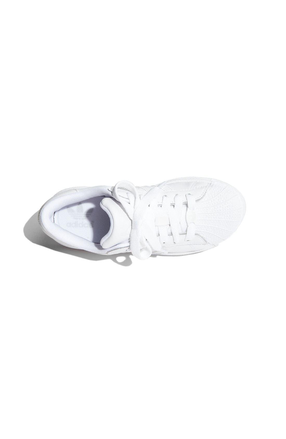Alternate Image 6  - adidas 'Superstar II' Sneaker (Big Kid)