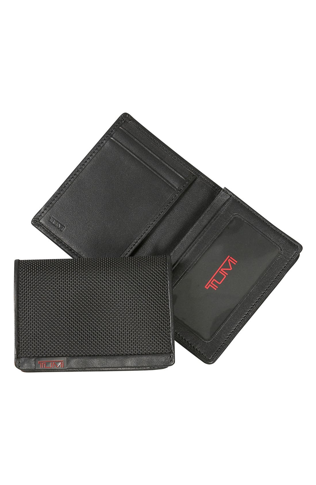 TUMI Alpha ID Lock<sup>™</sup> Gusseted Card Case