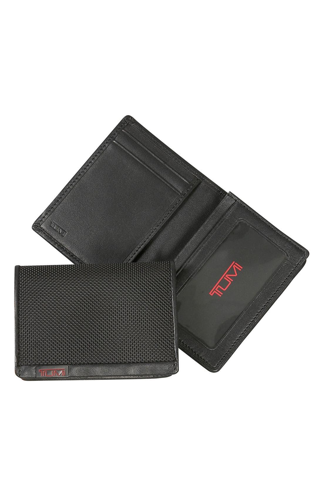 Tumi 'Alpha' ID Lock™ Gusseted Card Case