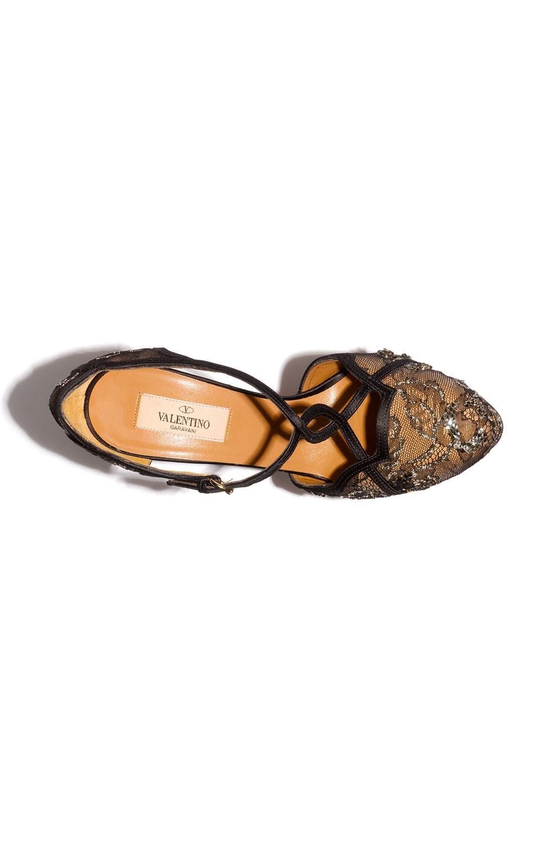 Alternate Image 3  - VALENTINO GARAVANI Crystal Embellished Lace Sandal
