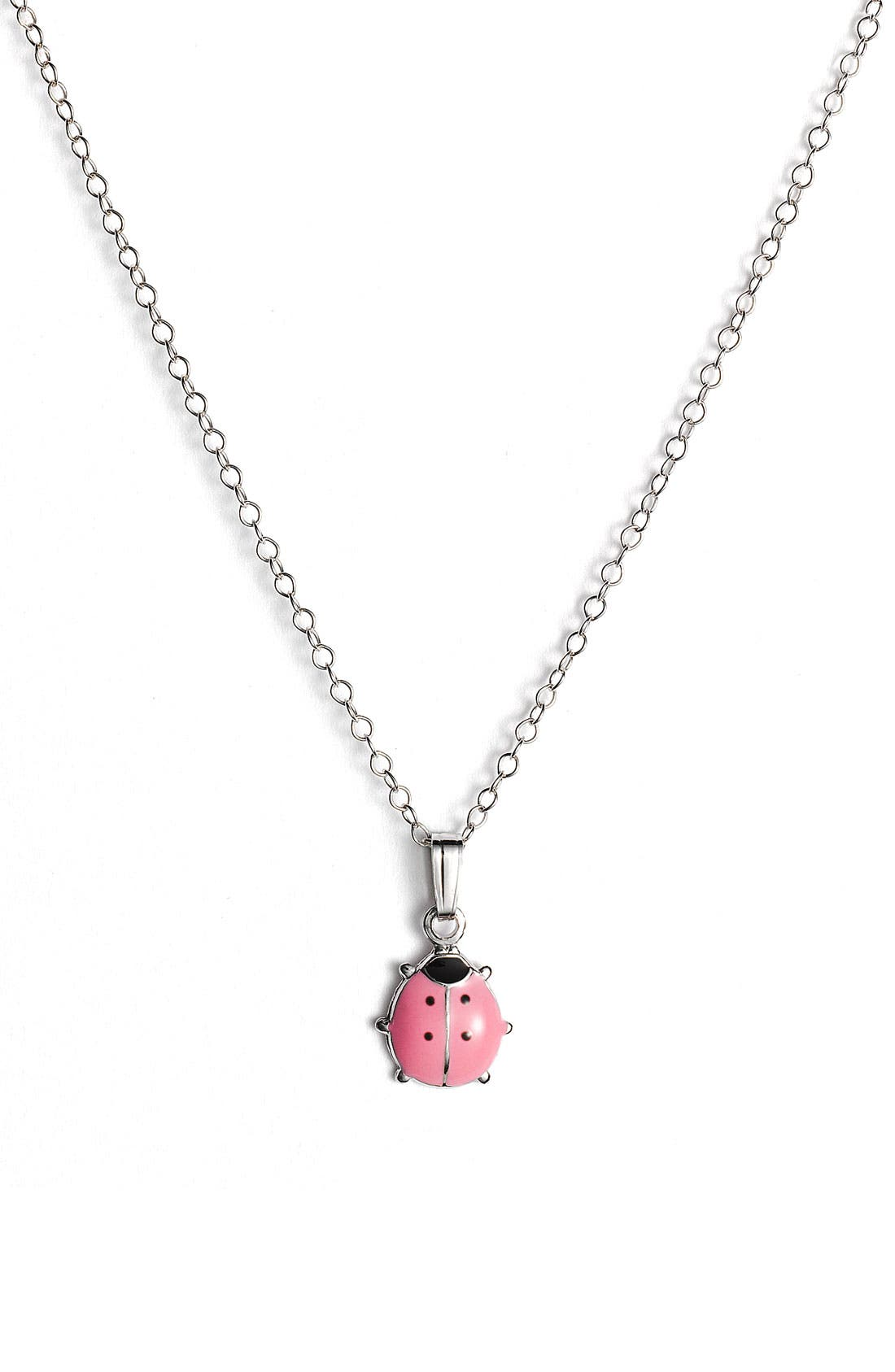 Alternate Image 1 Selected - Marathon Ladybug Pendant (Infant)