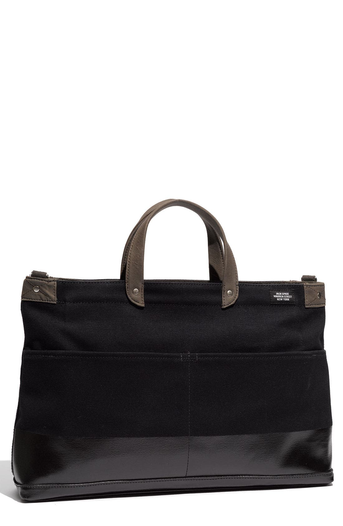 Alternate Image 1 Selected - Jack Spade 'York Industrial' Canvas Dipped Briefcase
