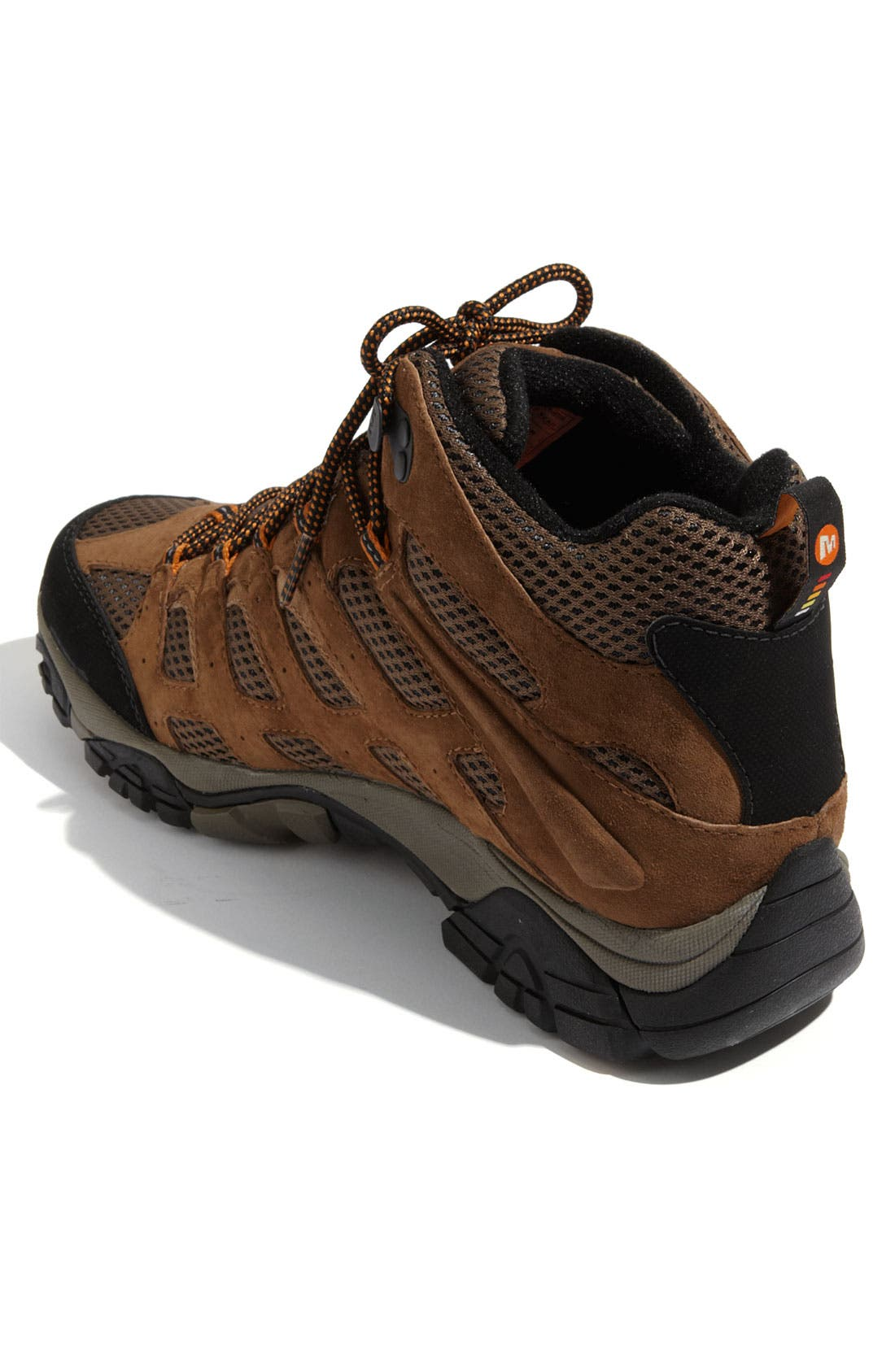 Alternate Image 4  - Merrell 'Moab Mid' Waterproof Hiking Boot (Men)