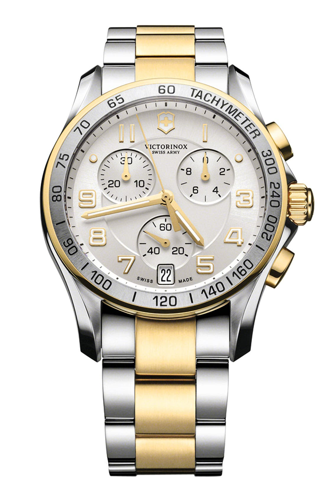Main Image - Victorinox Swiss Army® 'Chrono Classic' Bracelet Watch, 41mm
