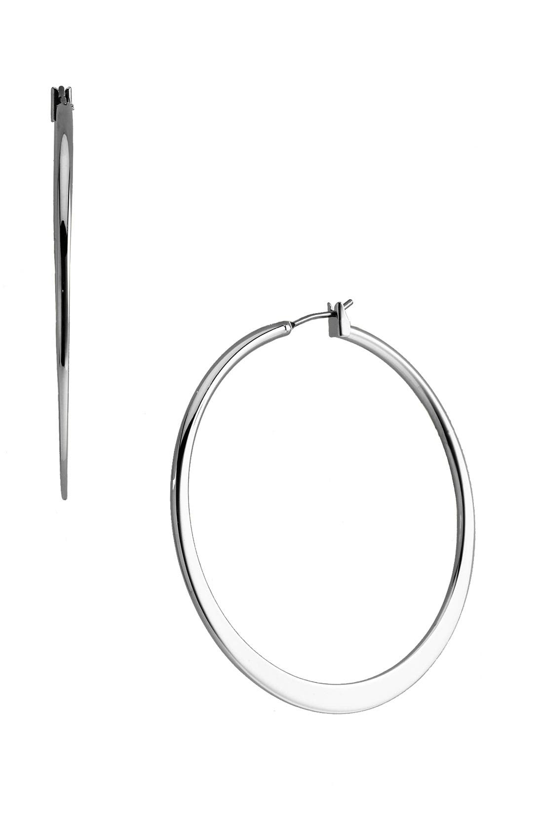 Alternate Image 1 Selected - Nordstrom Tapered Hoop Earrings