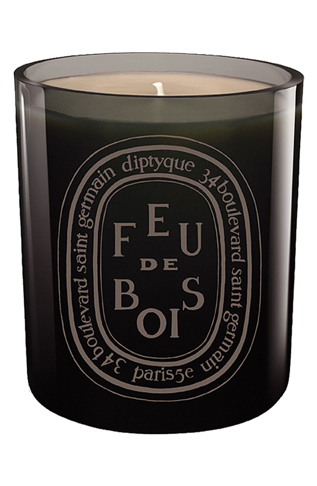Alternate Image 1 Selected - diptyque Feu de Bois/Wood Fire Grey Scented Candle