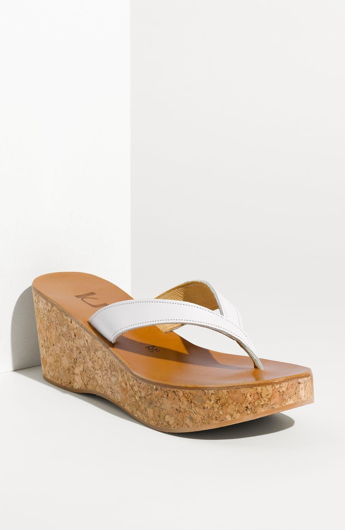 Alternate Image 1 Selected - K.Jacques St. Tropez 'Diorite' Wedge Sandal