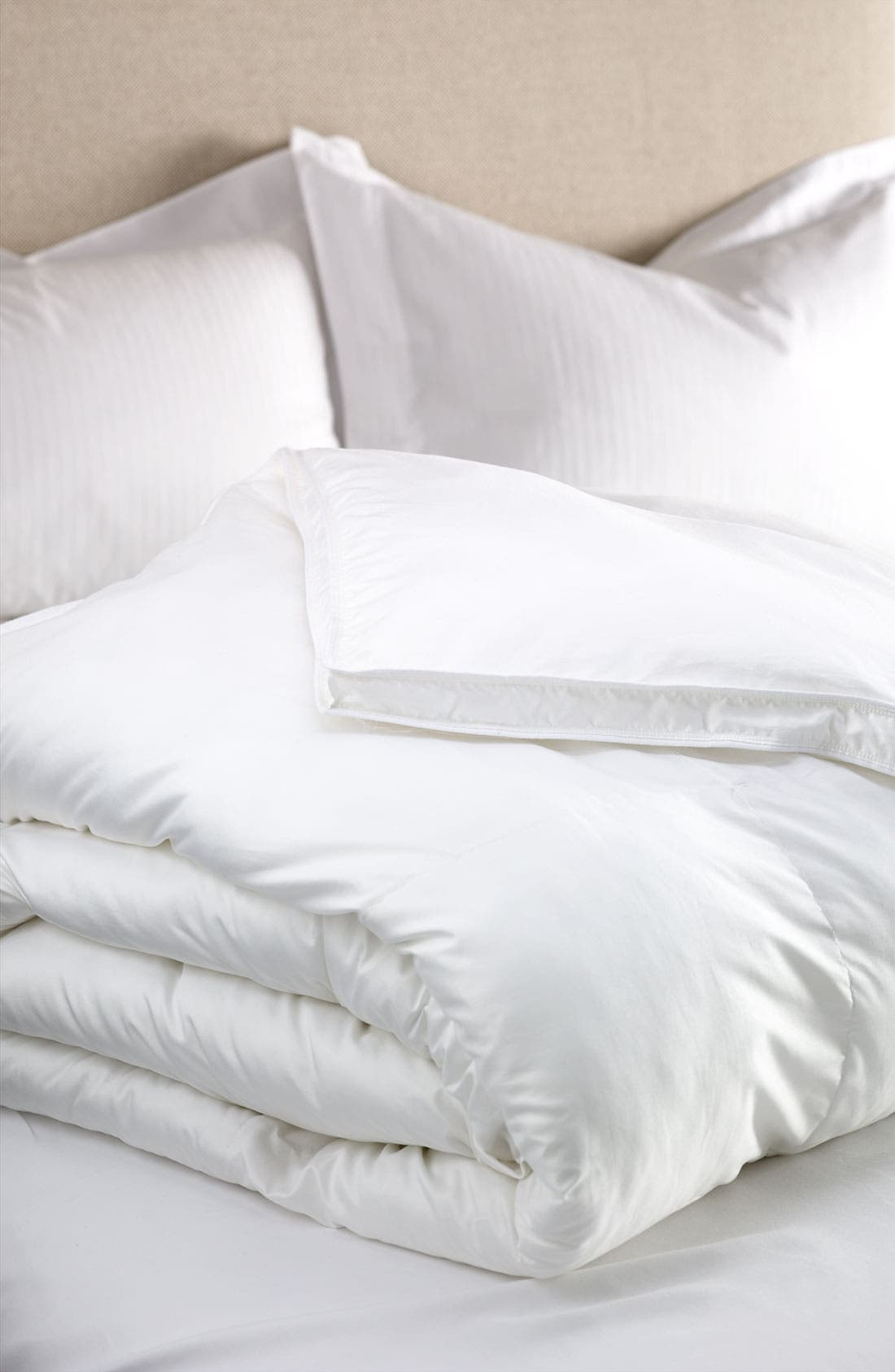 200 Thread Count Bed Down Duvet Insert,                         Main,                         color, White