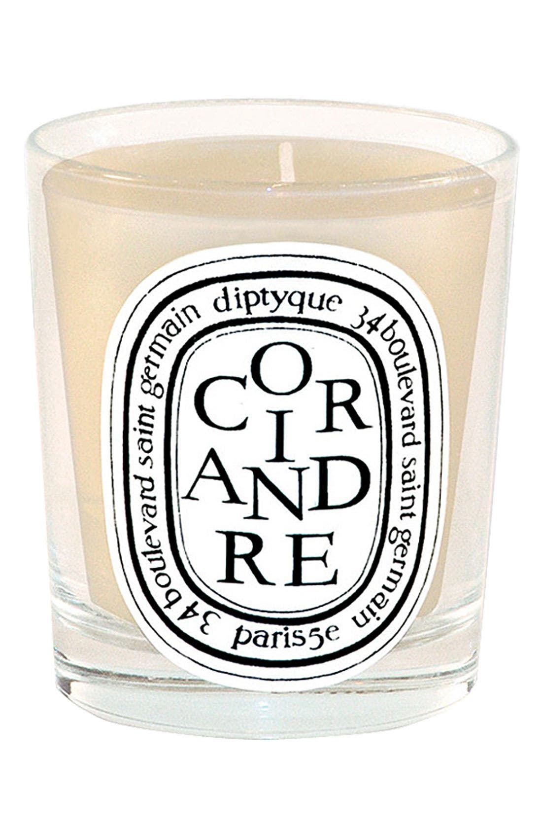 Coriandre/Coriander Scented Candle,                             Main thumbnail 1, color,