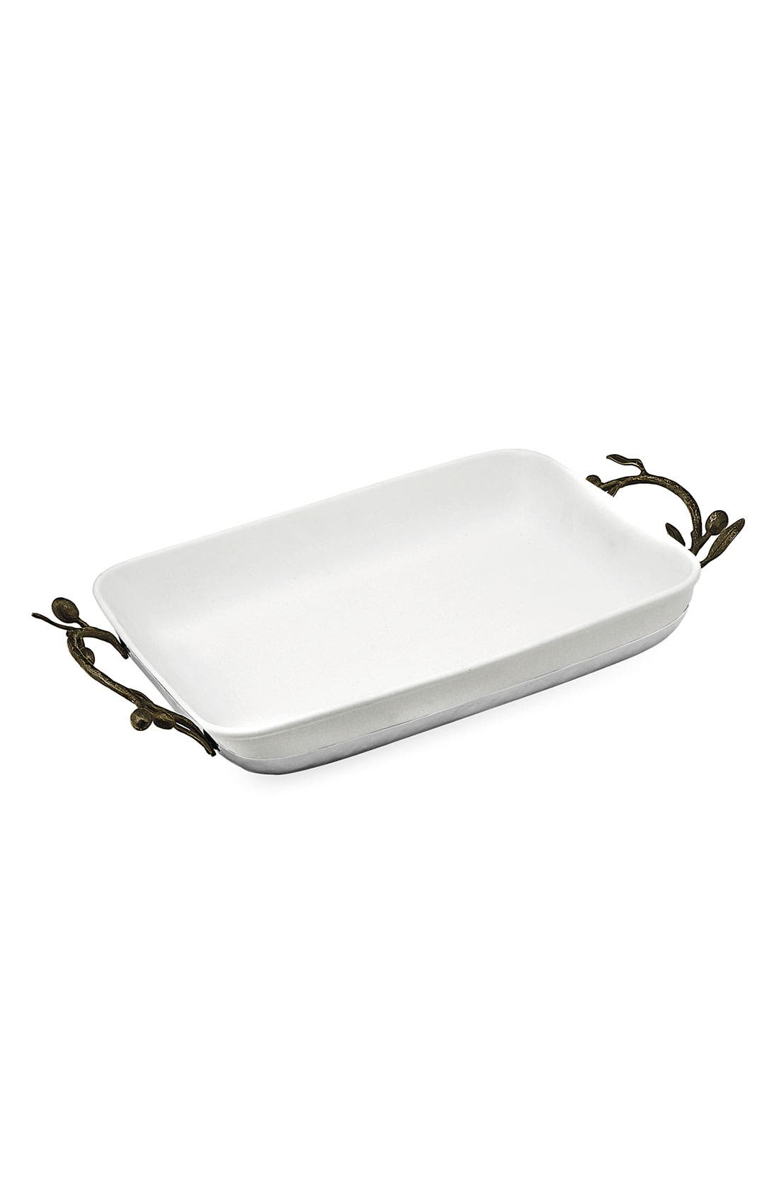 Alternate Image 1 Selected - Michael Aram 'Olive Branch' Casserole Dish