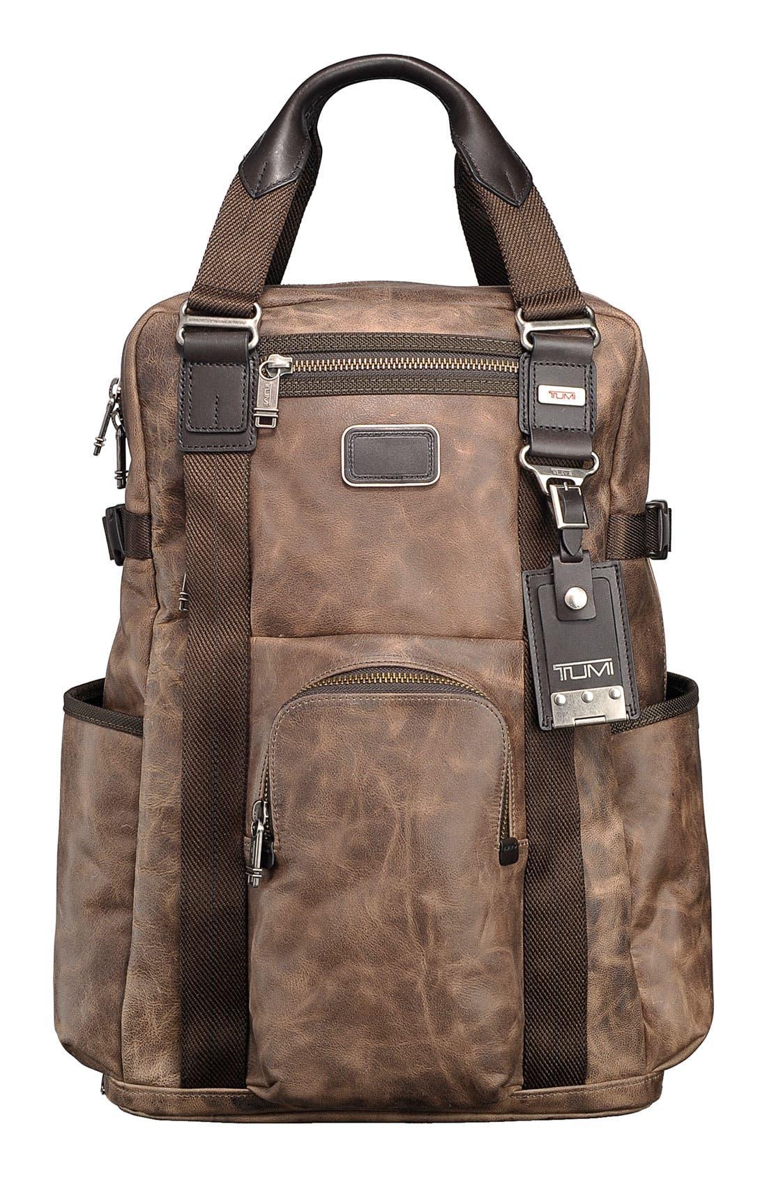 Alternate Image 1 Selected - Tumi 'Bravo - Lejune' Backpack Tote