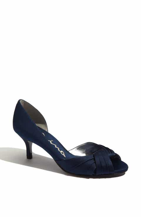 Womens blue wedding shoes nordstrom nina culver dorsay junglespirit Image collections
