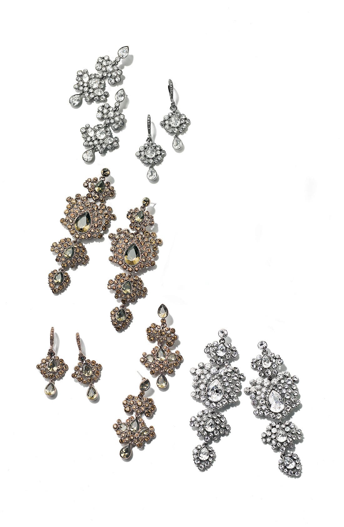 Alternate Image 2  - Givenchy Crystal Chandelier Earrings