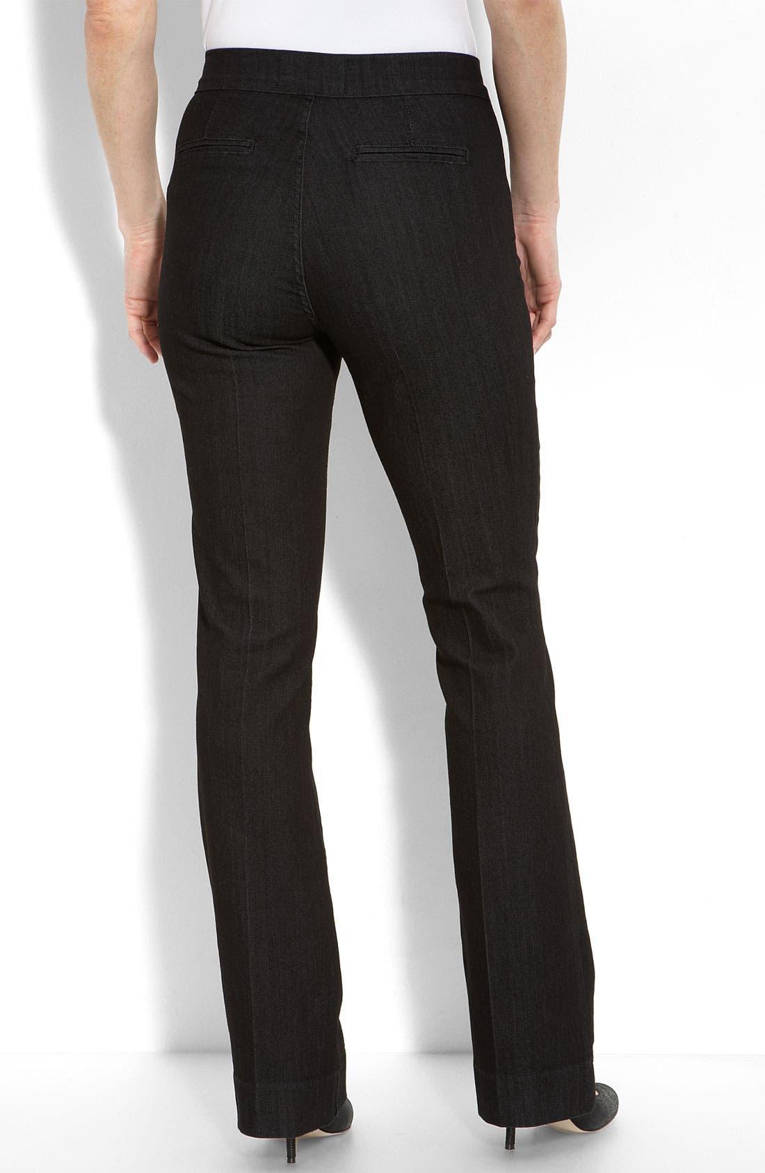 Alternate Image 2  - NYDJ 'Michelle' Trouser Jeans (Petite)