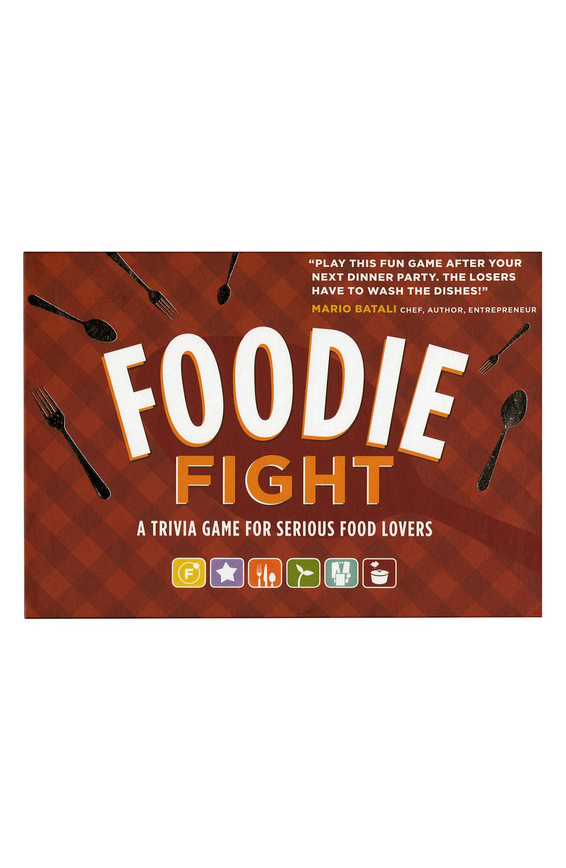 Chronicle Books 'Foodie Fight' Trivia Game