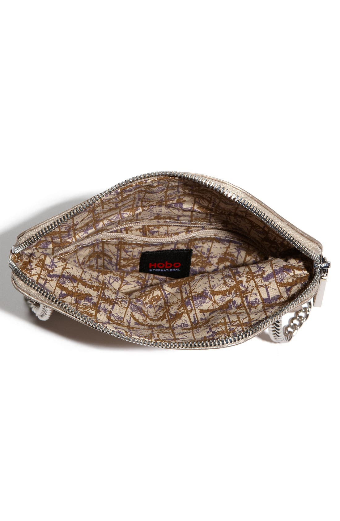 Alternate Image 3  - Hobo 'Daria' Metallic Leather Crossbody Bag