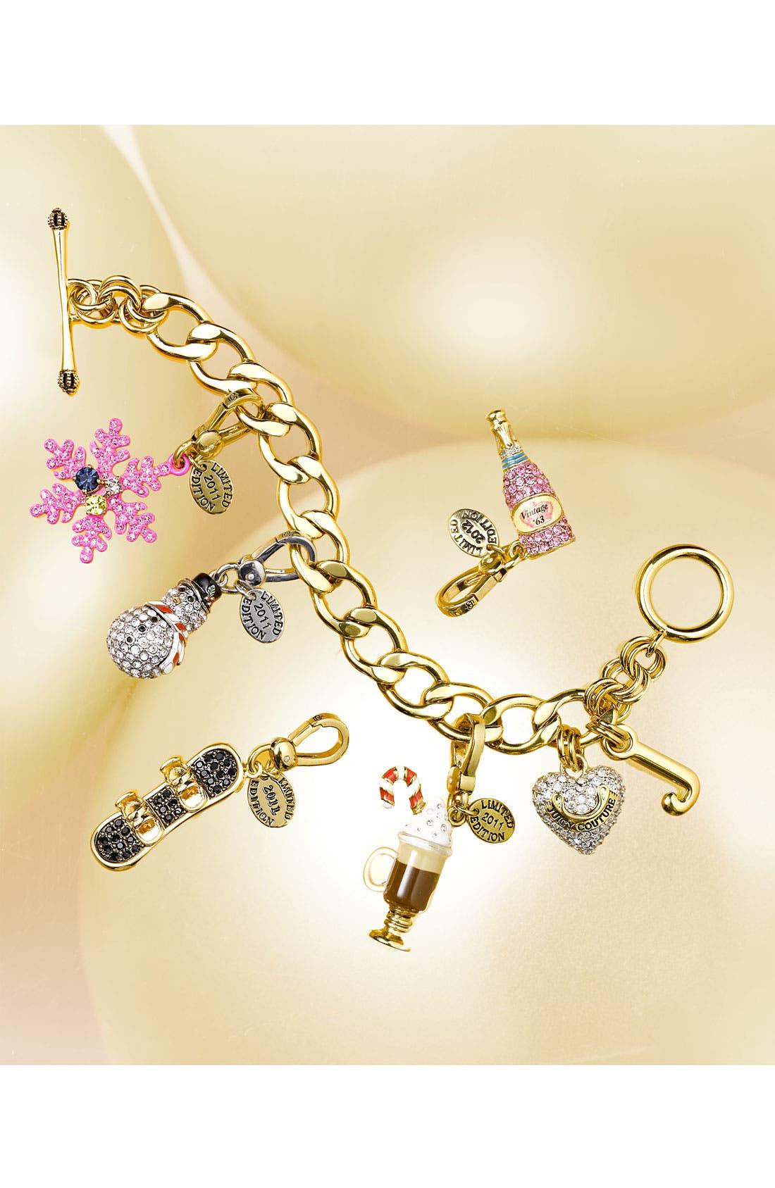 Alternate Image 2  - Juicy Couture Pavé Starter Charm Bracelet