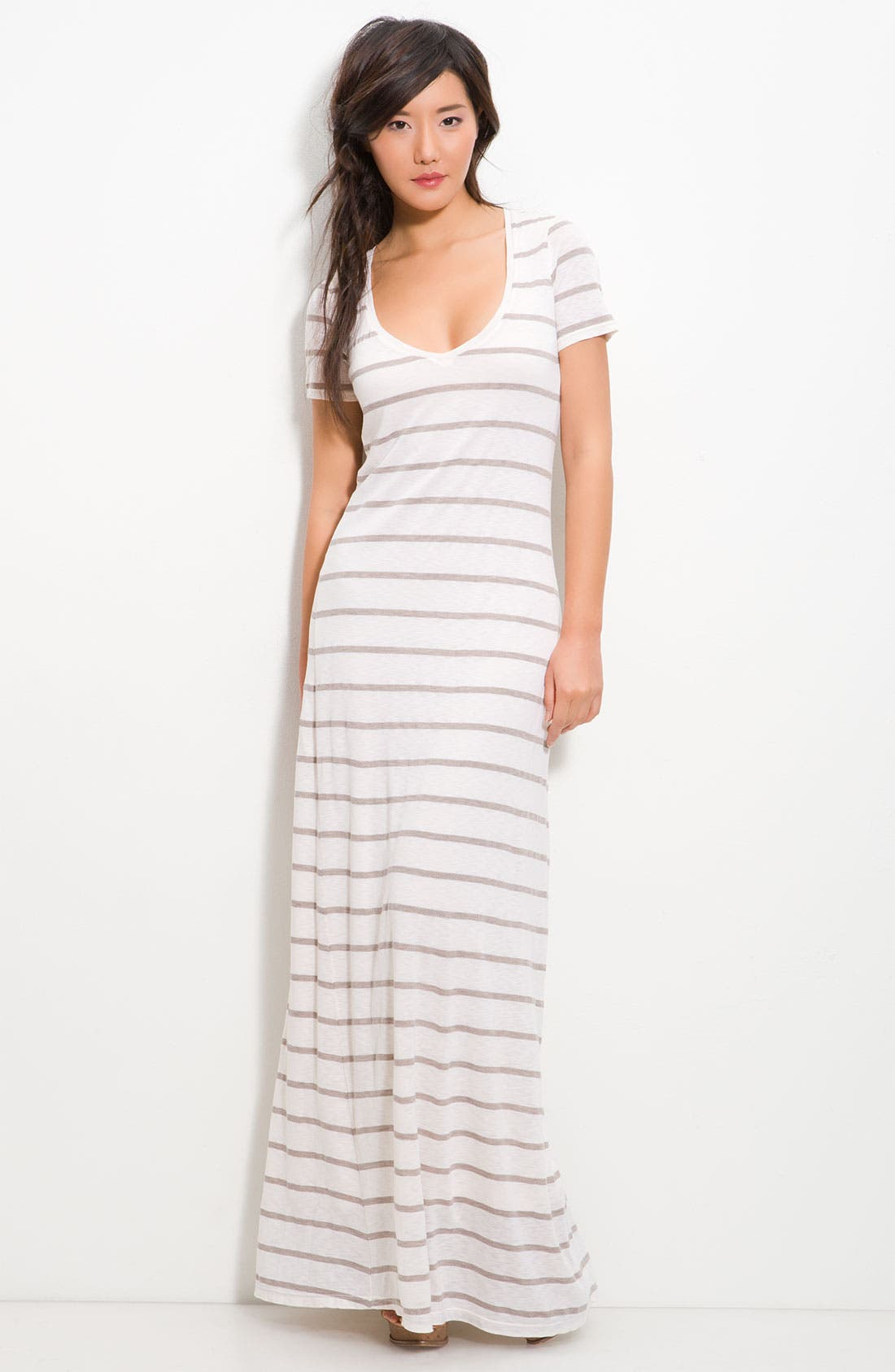 Main Image - Splendid Stripe Column Maxi Dress