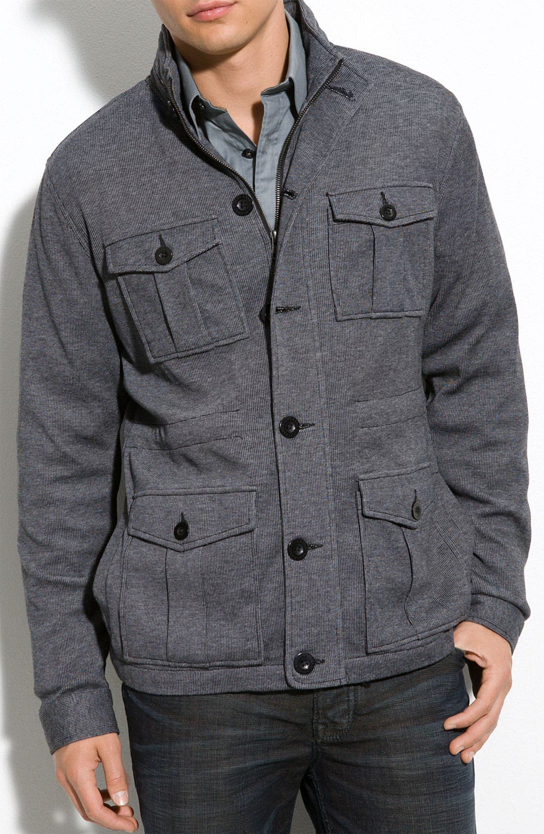 Main Image - Kane & Unke Trim Fit Field Jacket