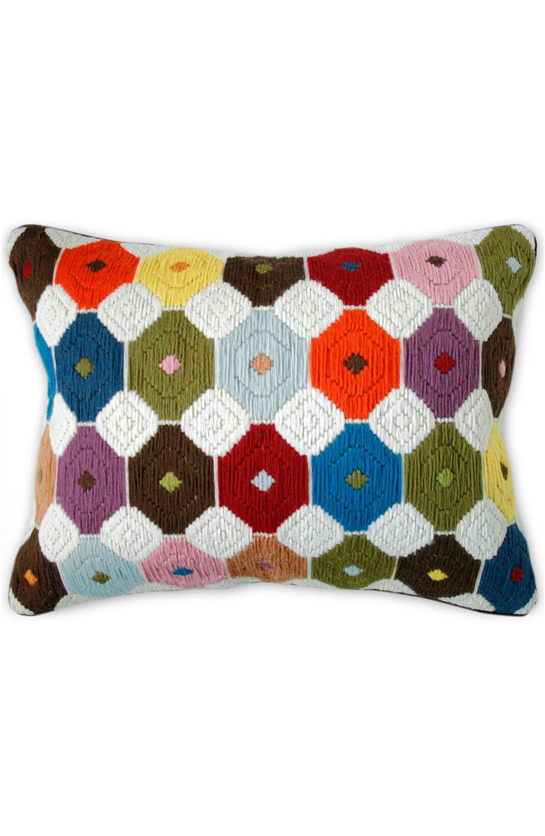 Alternate Image 1 Selected - Jonathan Adler 'Chamomile Bargello' Pillow