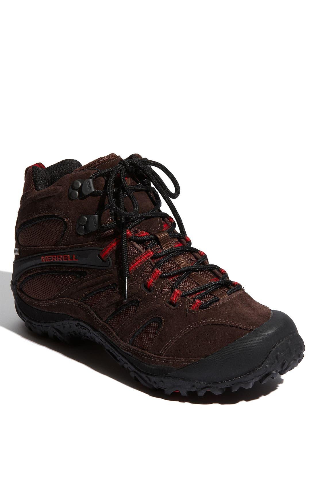 Main Image - Merrell 'Chameleon 4 Mid Ventilator GORE-TEX®' Hiking Boot