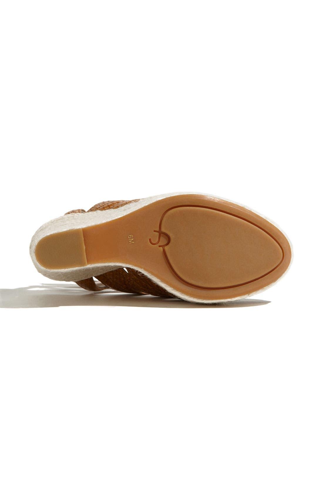 Alternate Image 4  - Joan & David 'Silbey' Sandal