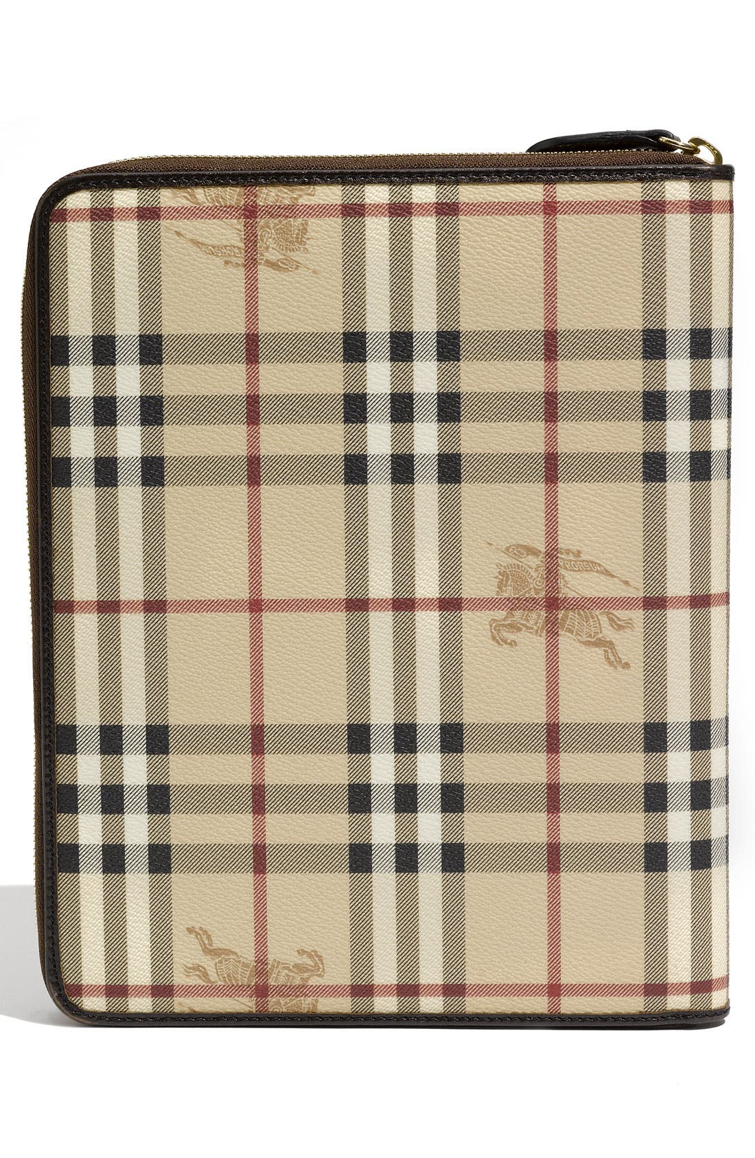 Alternate Image 3  - Burberry 'Haymarket Check' Zip Around iPad 2 Case