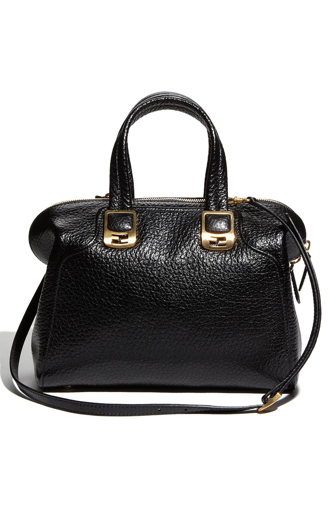 Alternate Image 4  - Fendi 'Chameleon - Small' Leather Tote