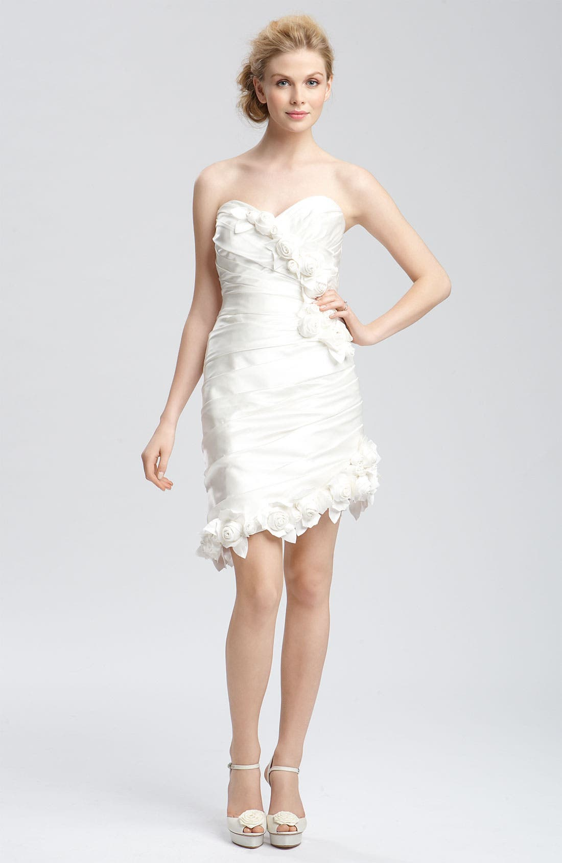 Alternate Image 2  - Faviana 'Eva' Convertible Satin Gown