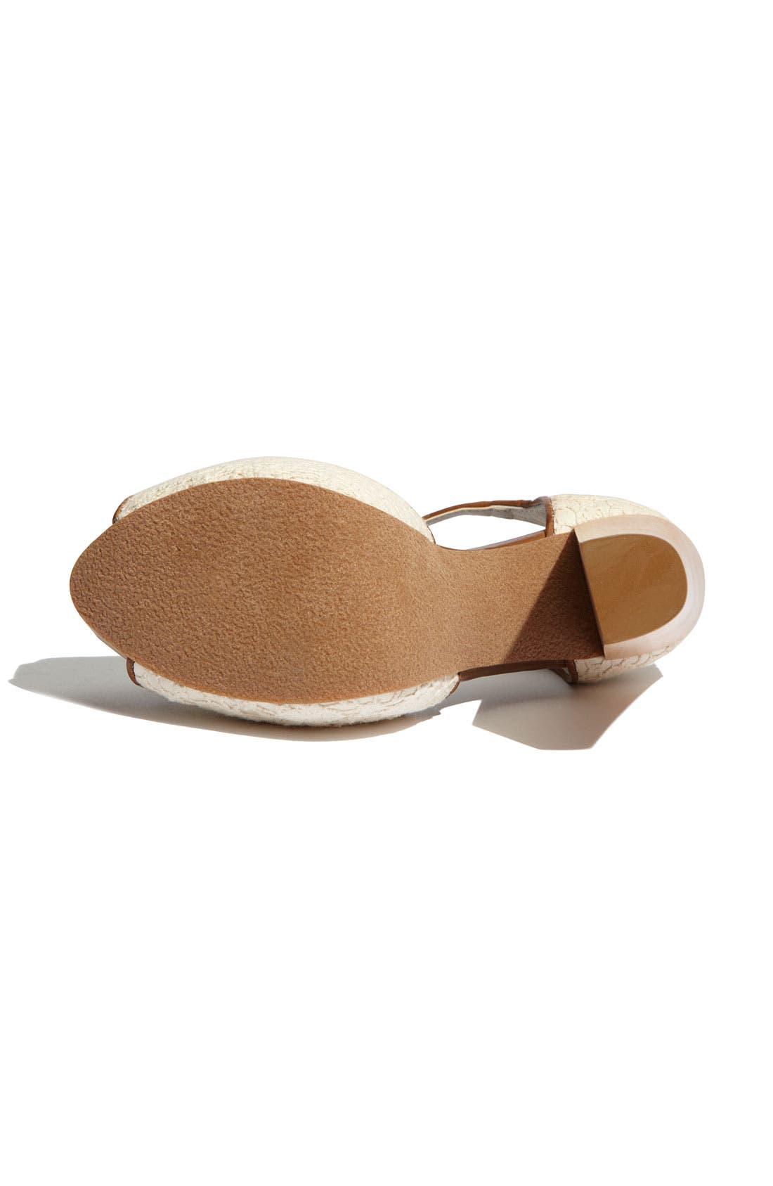 Alternate Image 4  - Hinge® 'Asher' T-Strap Sandal