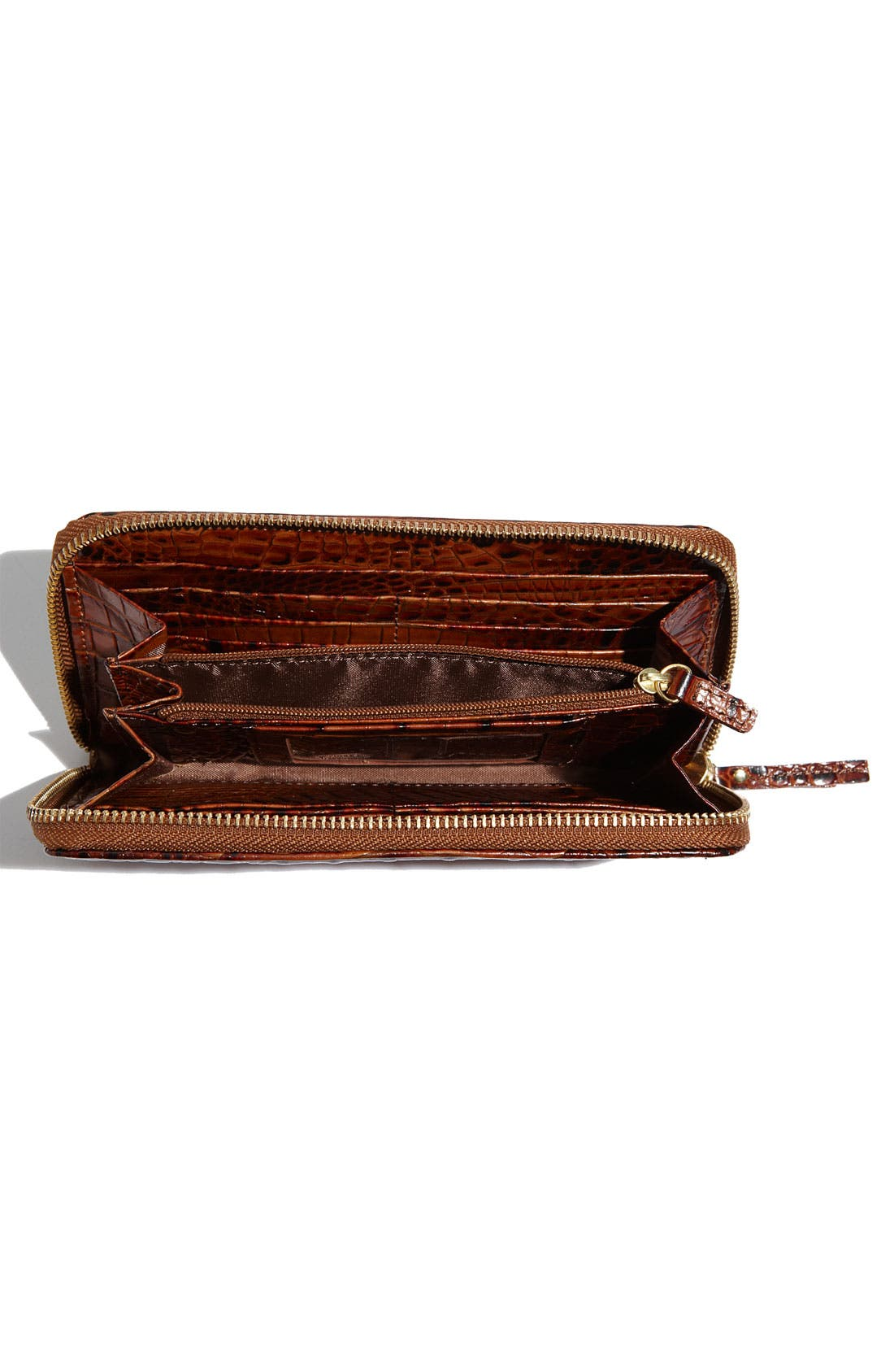 Alternate Image 3  - Brahmin 'Suri' Zip Around Wallet