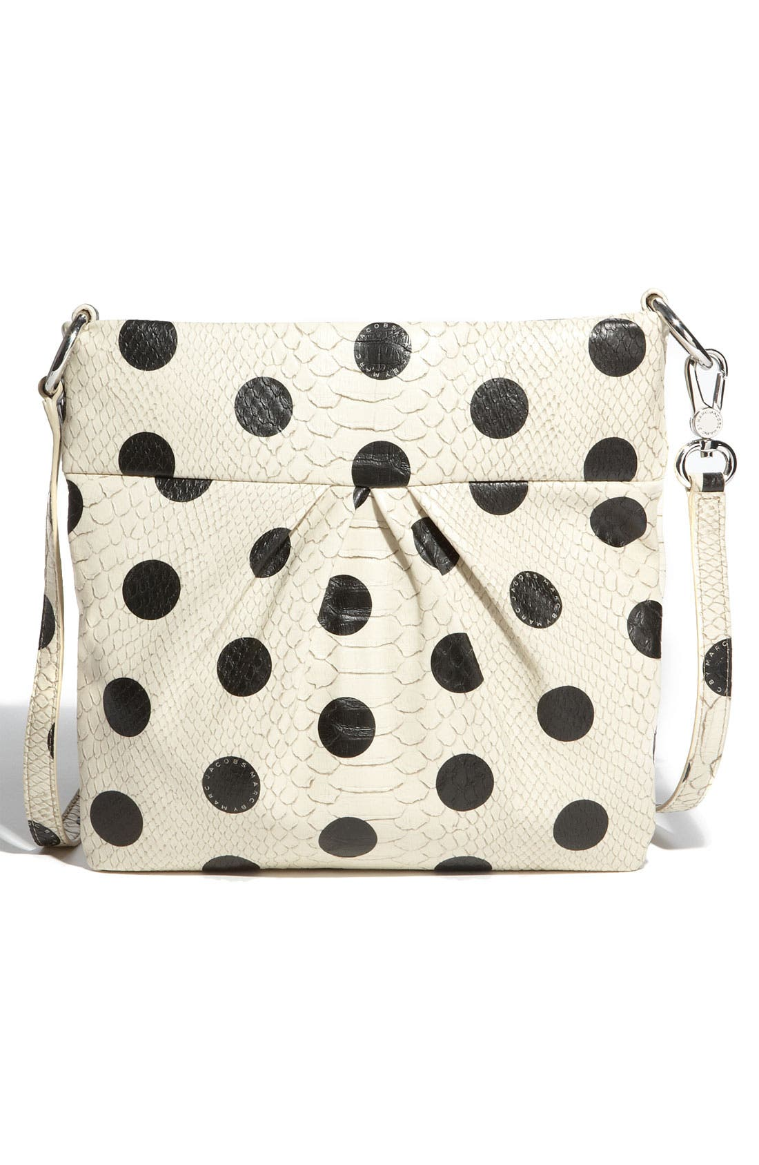 Alternate Image 4  - MARC BY MARC JACOBS 'Dotty Snake - Sia' Faux Leather Crossbody Bag