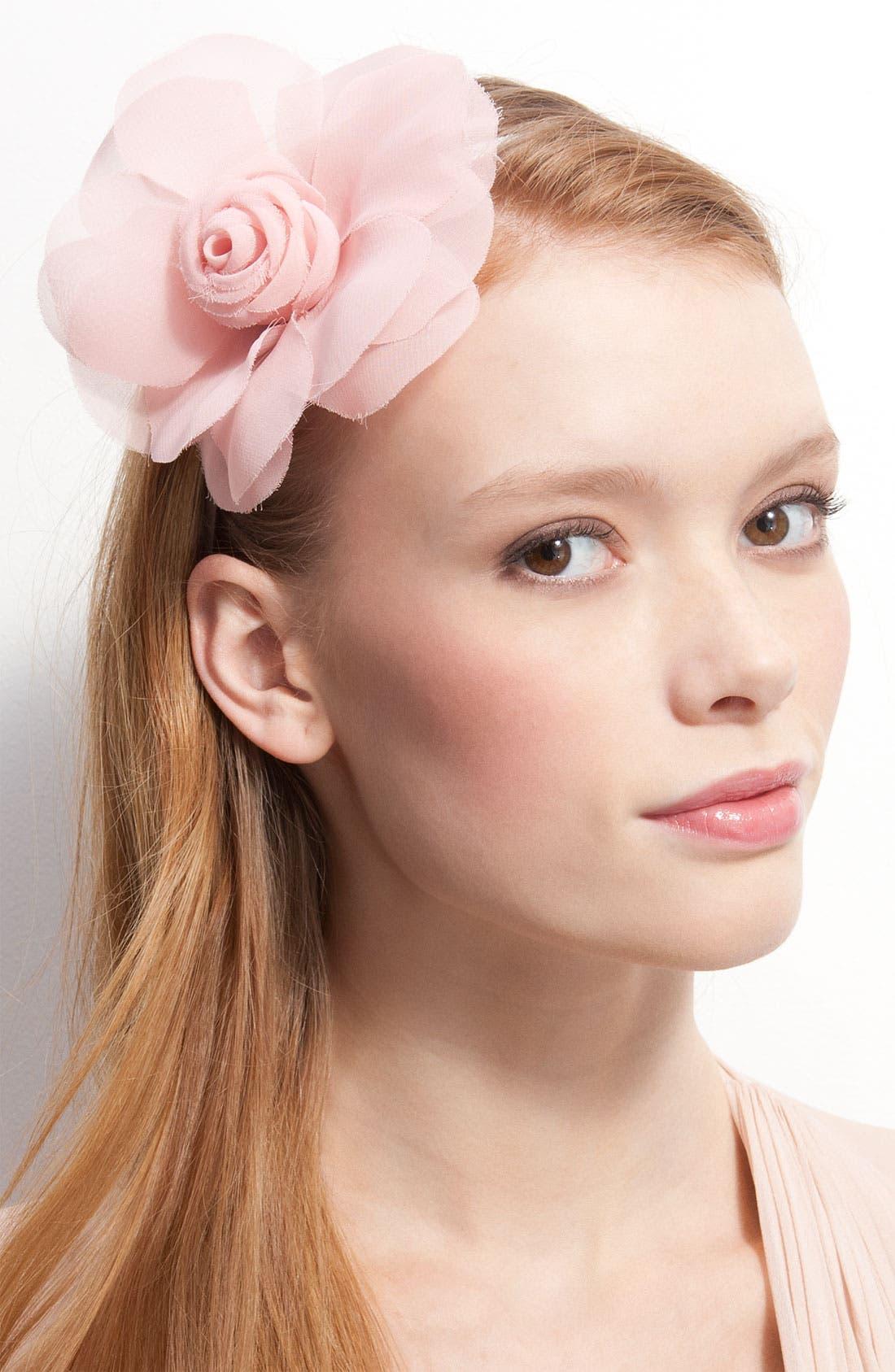 Alternate Image 1 Selected - Cara Accessories 'Soft Petals' Headband