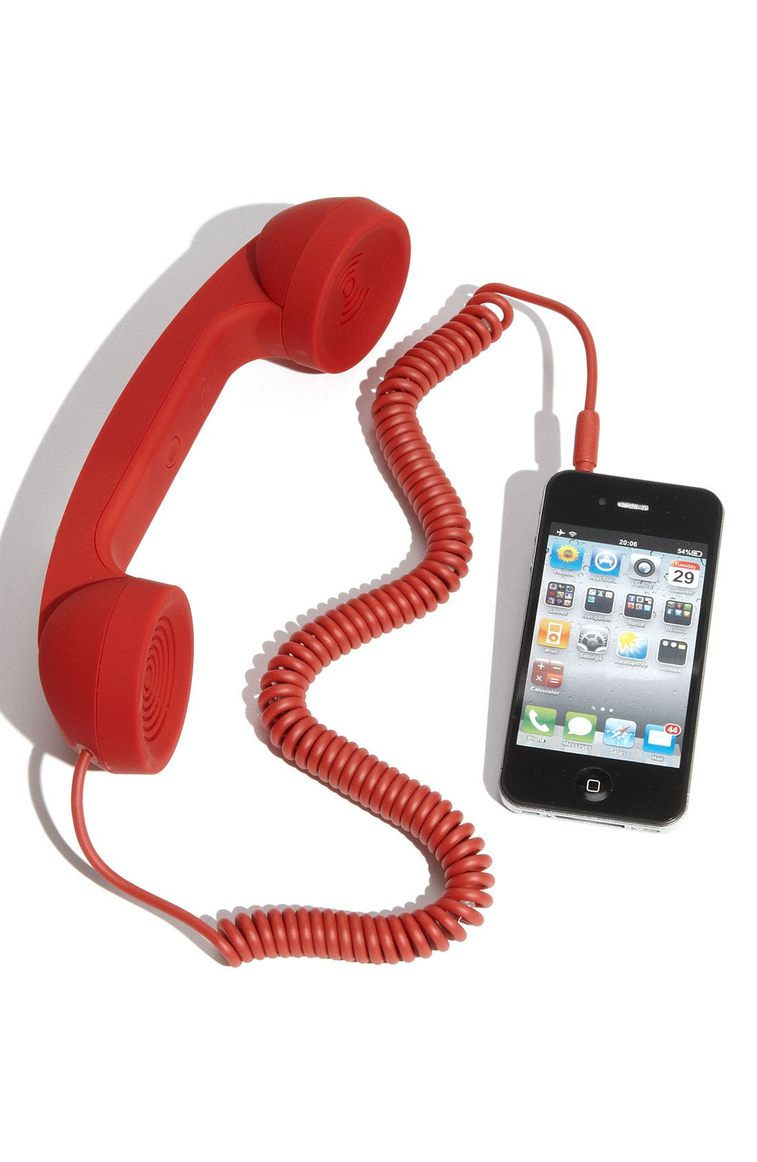 'Pop Phone' Handset,                         Main,                         color, Red