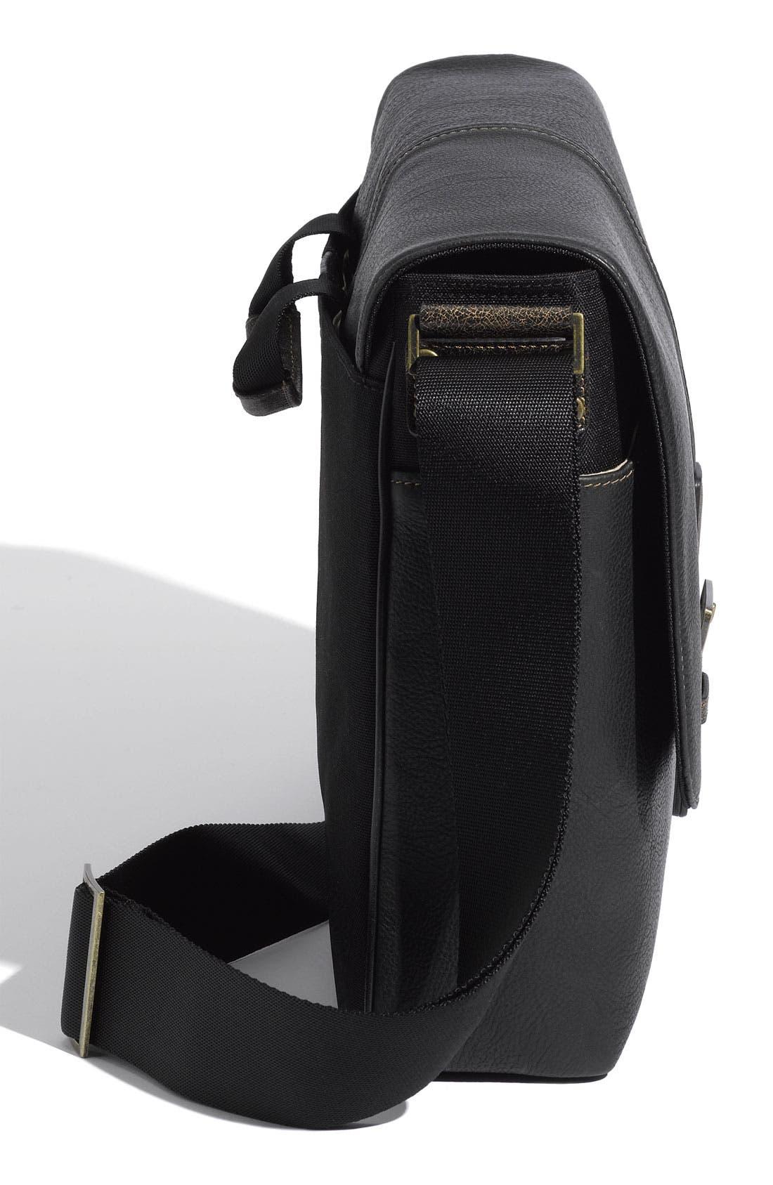 Alternate Image 4  - Boconi Leather Messenger Bag