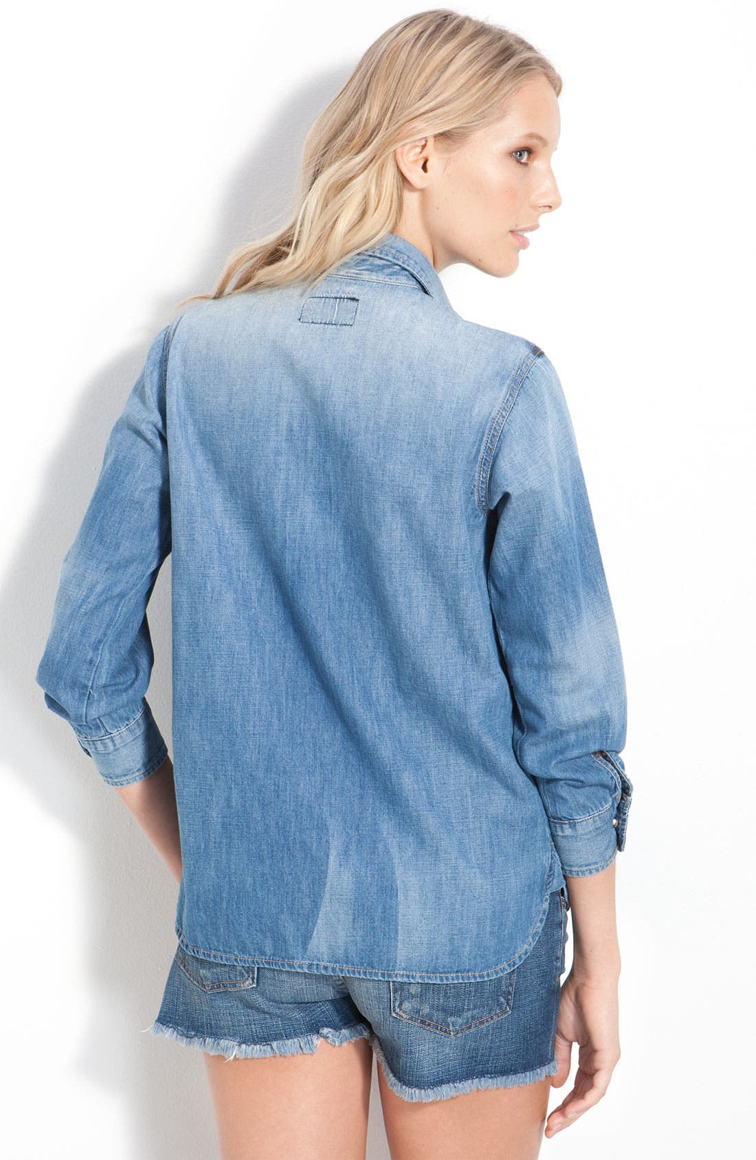 Alternate Image 2  - Current/Elliott 'The Perfect' Denim Shirt
