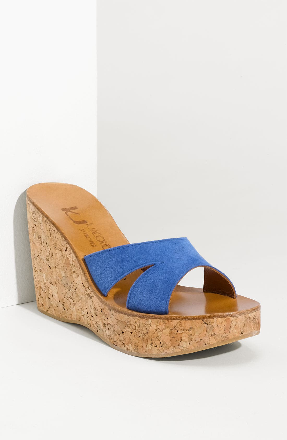 Alternate Image 1 Selected - K.Jacques St. Tropez 'Kyoto' Wedge Slide
