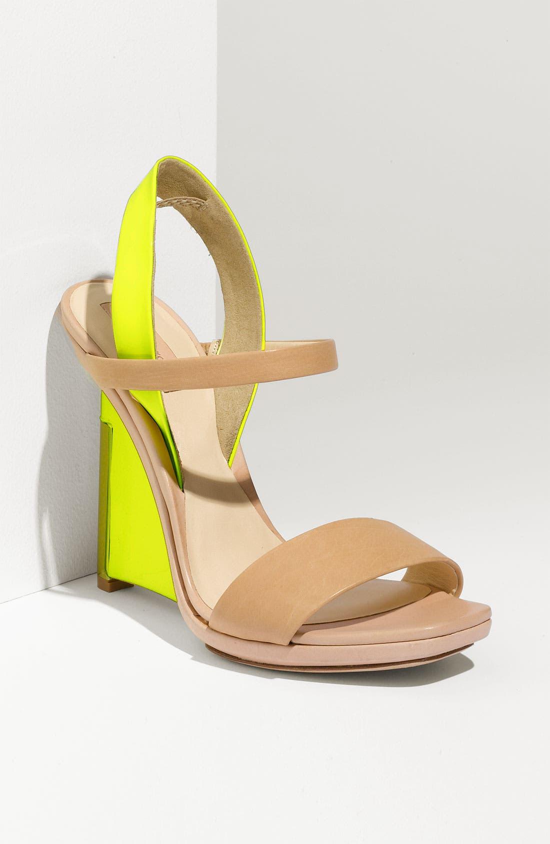 Alternate Image 1 Selected - Reed Krakoff 'Architect' Wedge Sandal