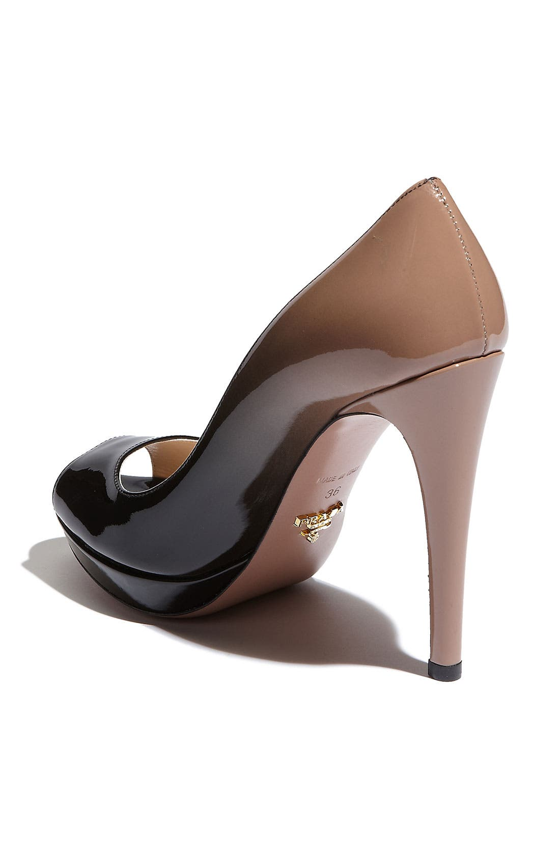 Alternate Image 2  - Prada Dégradé Peep Toe Pump (Nordstrom Exclusive Color)