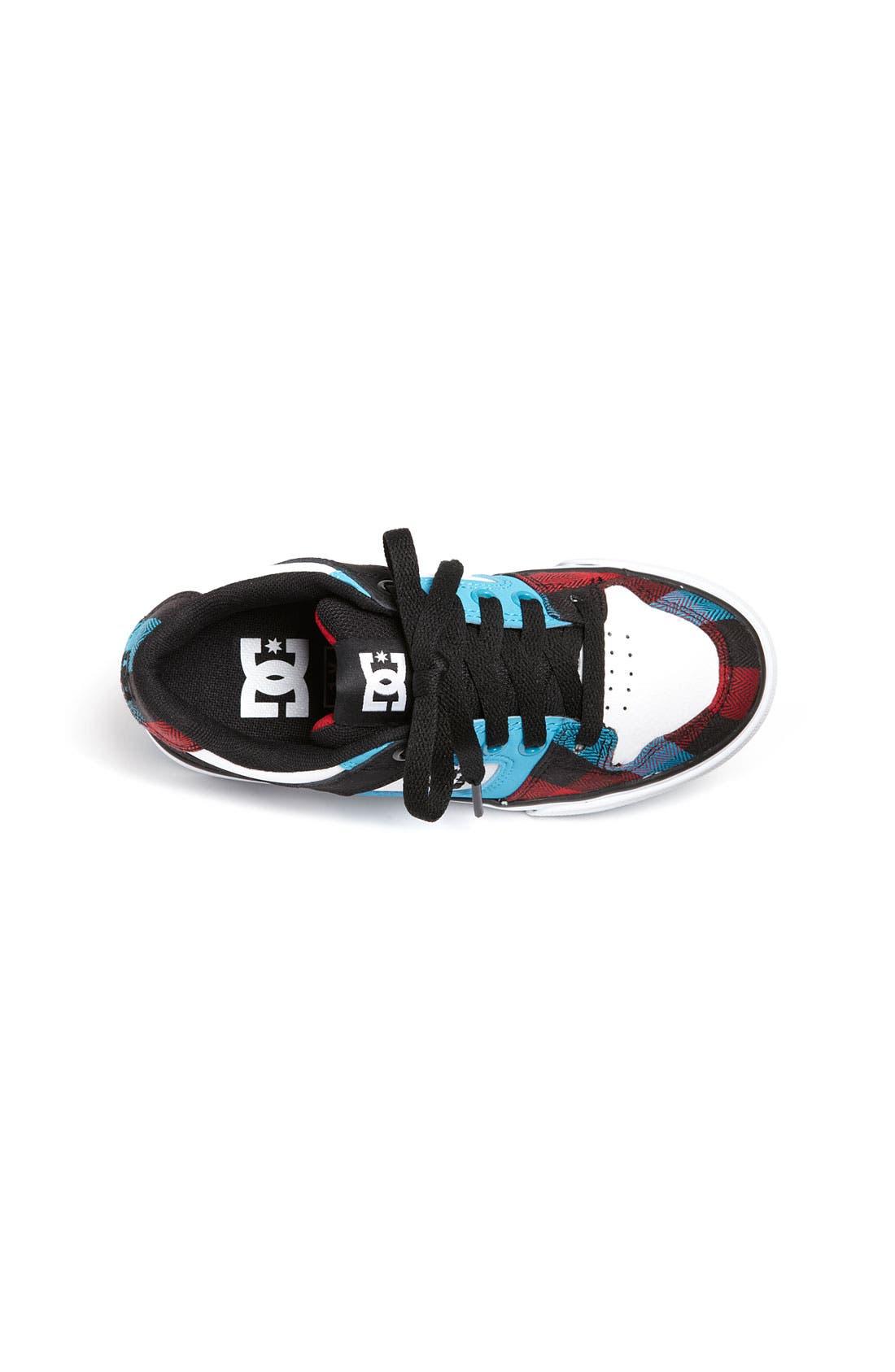 Alternate Image 3  - DC Shoes 'Pure' Sneaker (Toddler, Little Kid & Big Kid)