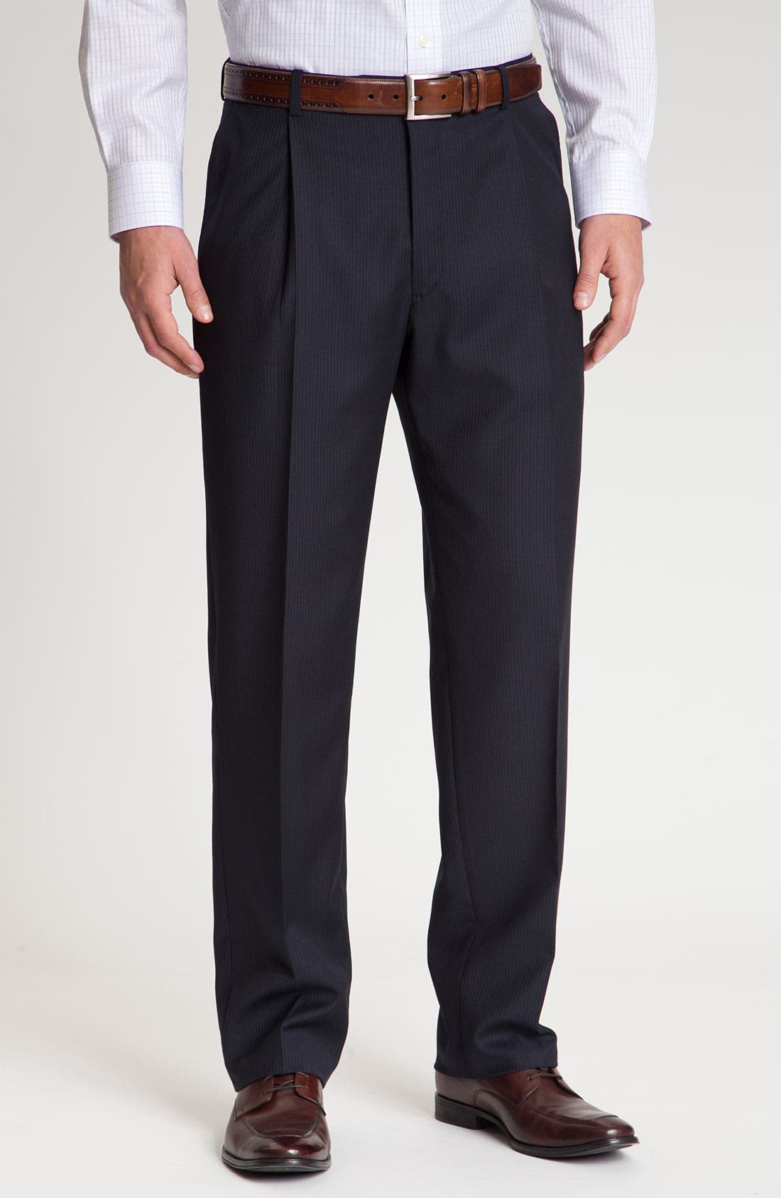Alternate Image 4  - Hart Schaffner Marx Pinstripe Wool Suit