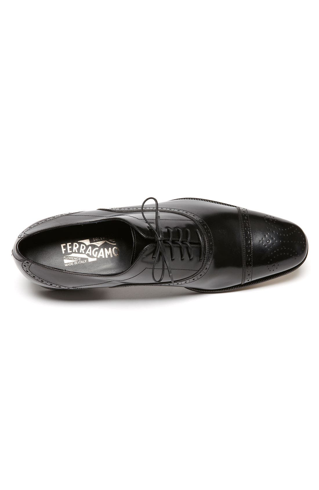 Alternate Image 3  - Salvatore Ferragamo 'Caesy' Cap Toe Oxford