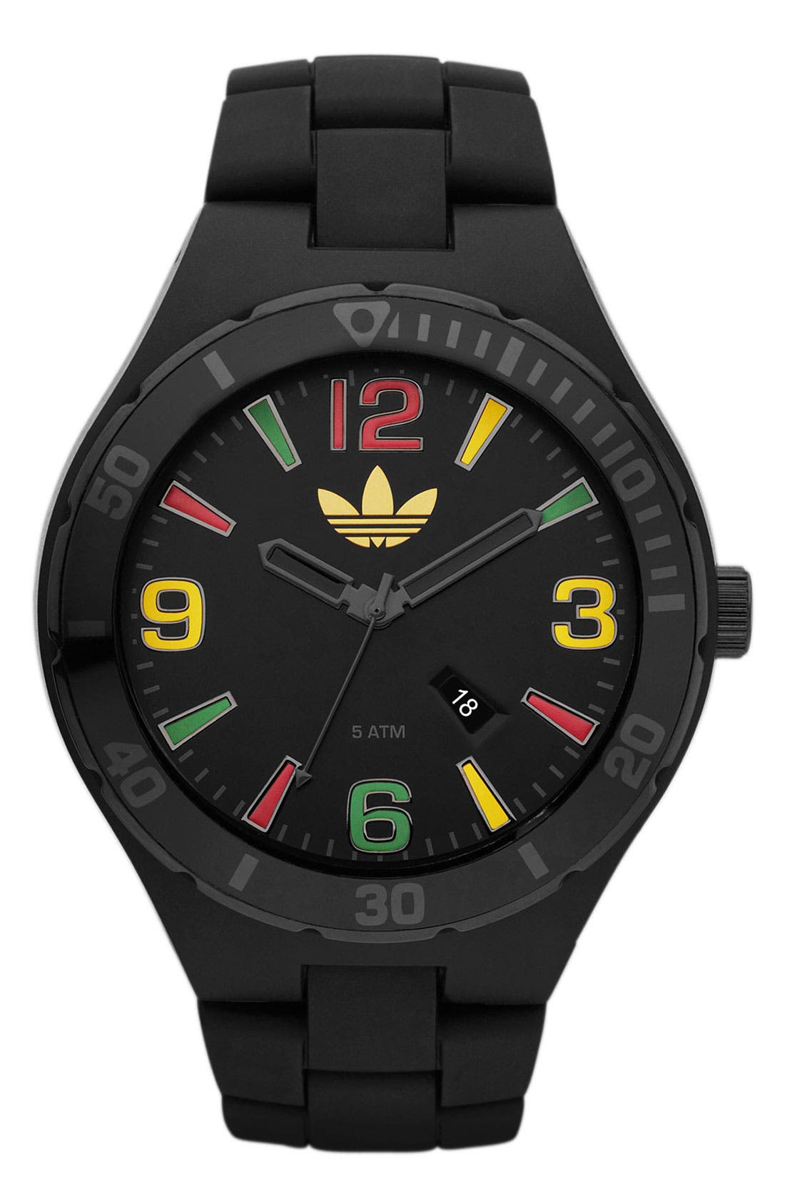 Alternate Image 1 Selected - adidas Originals 'Melbourne' Round Bracelet Watch