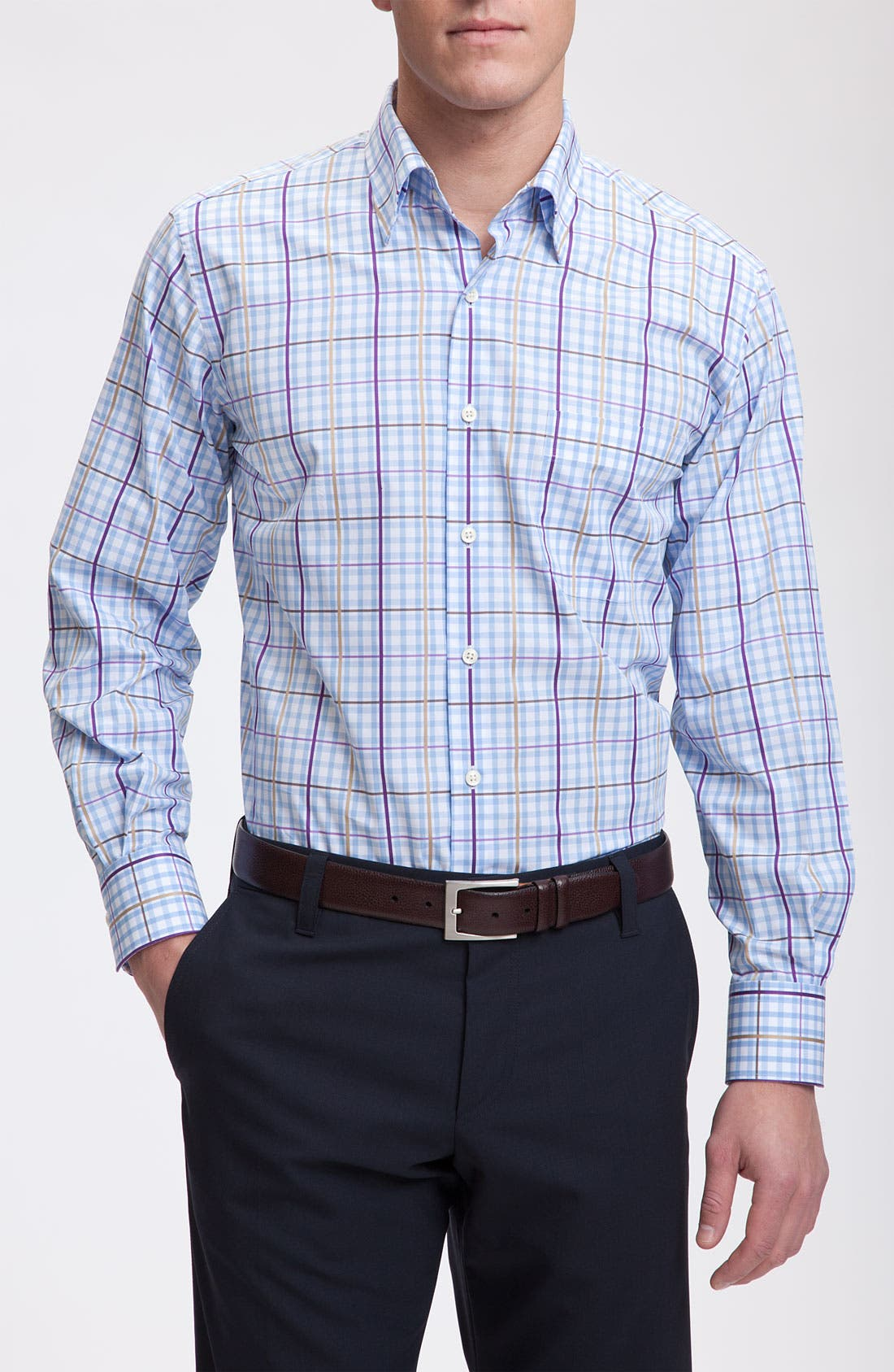 Alternate Image 1 Selected - Peter Millar Check Sport Shirt