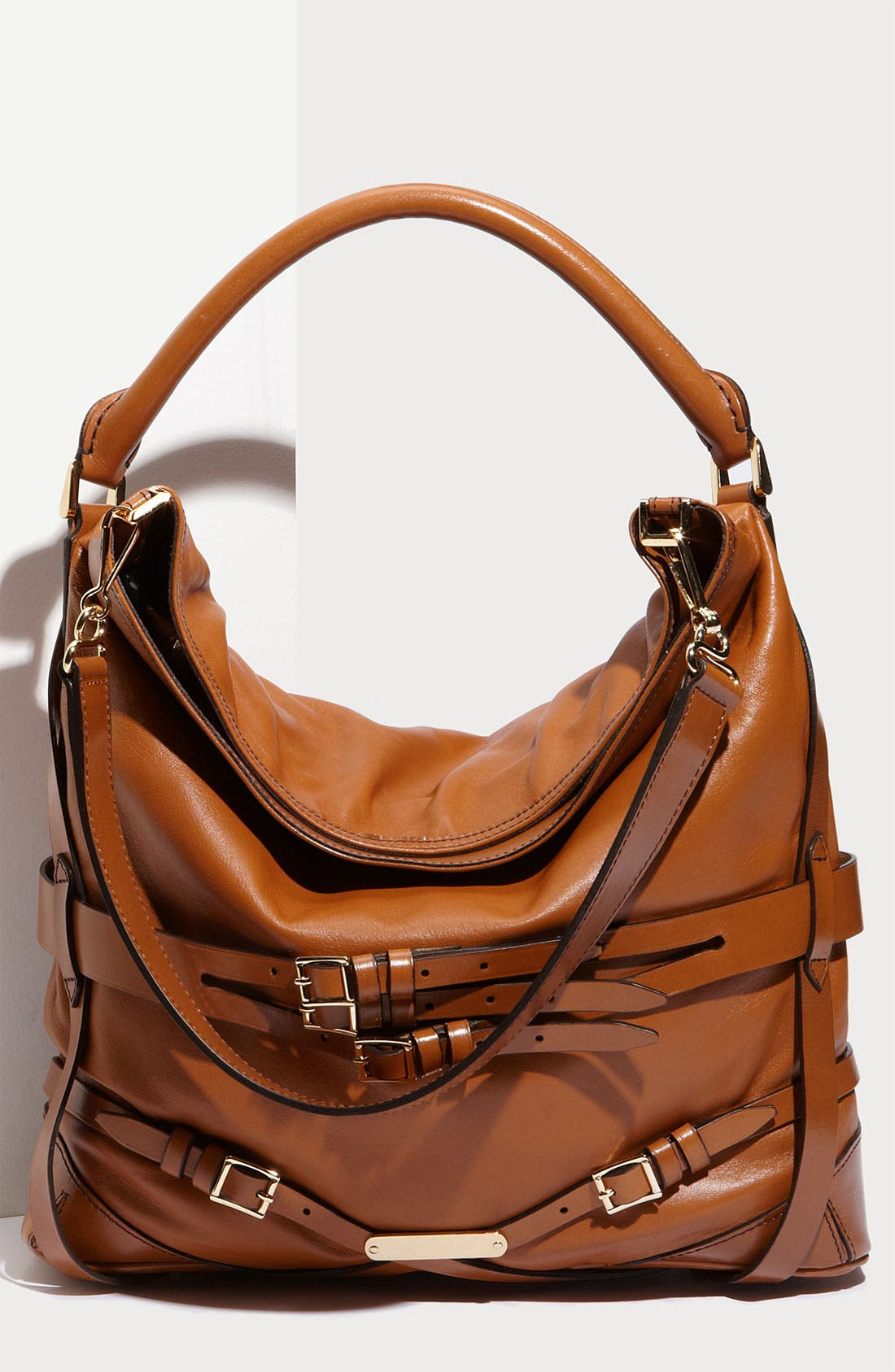 Alternate Image 1 Selected - Burberry Leather Hobo