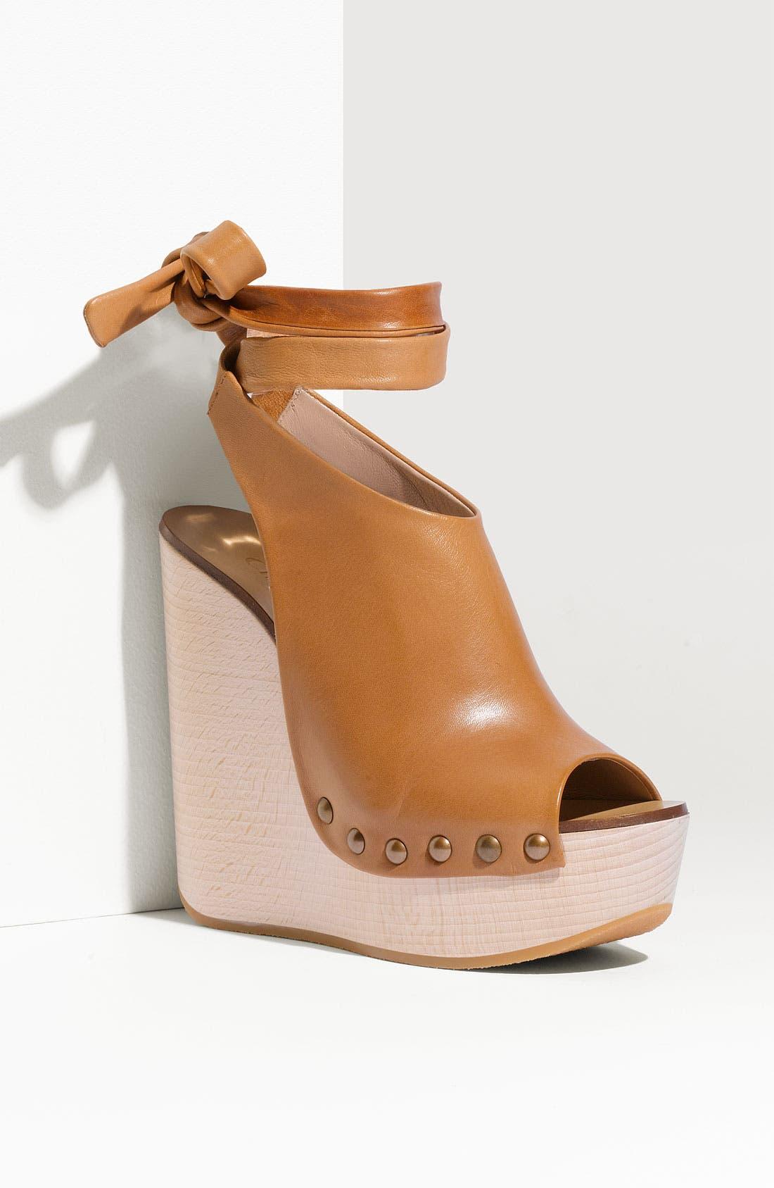 Alternate Image 1 Selected - Chloé 'Penelope' Wedge Sandal