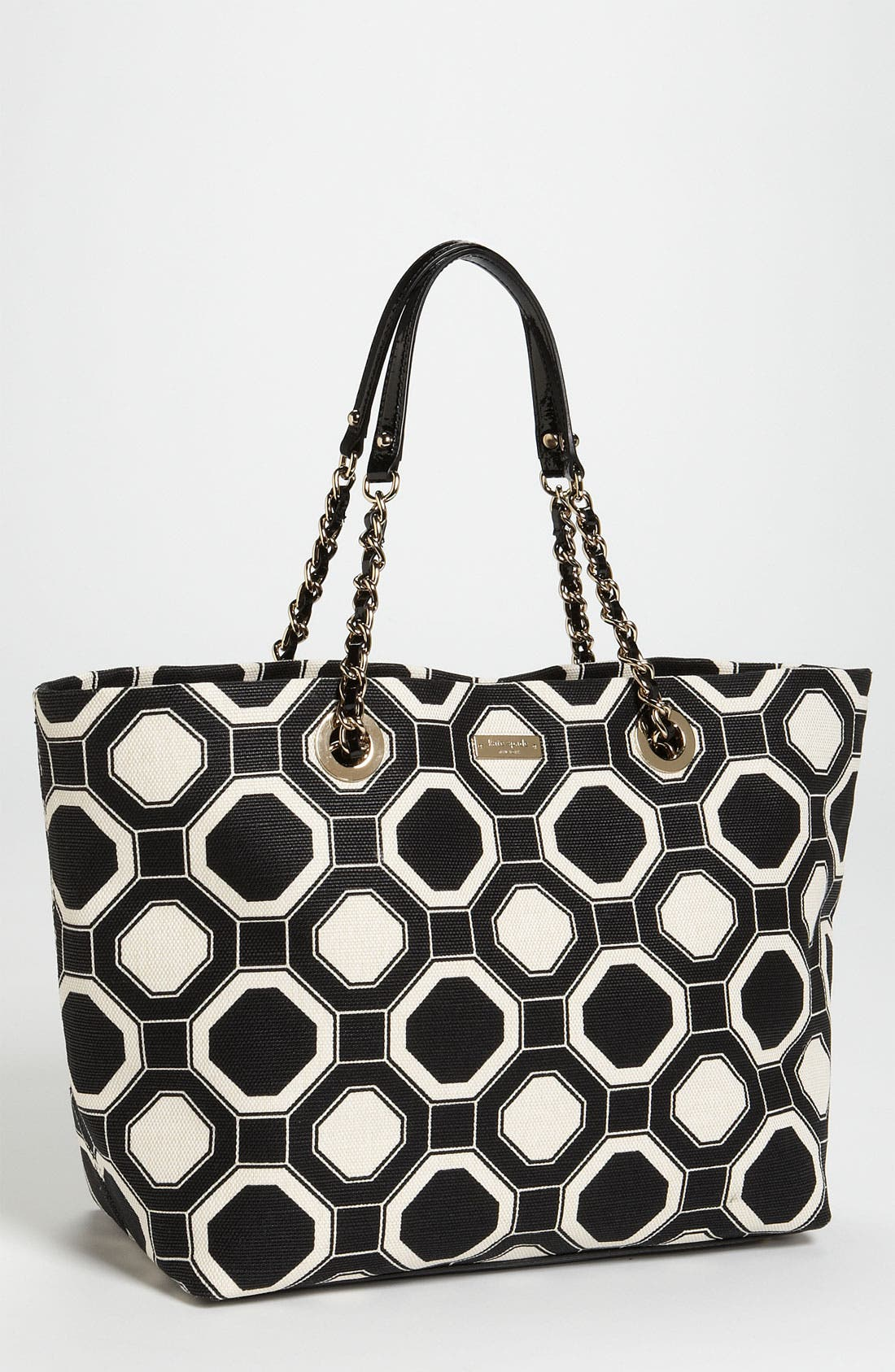 Alternate Image 1 Selected - kate spade new york 'coal - small' fabric tote