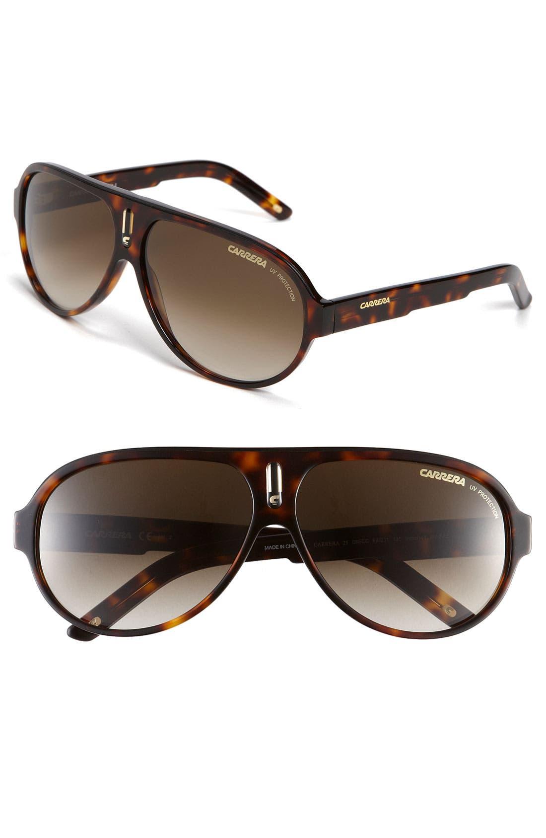 Alternate Image 1 Selected - Carrera Eyewear 63mm Aviator Sunglasses